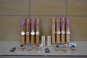 メダルと賞品